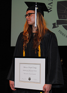 Alexandra Kathleen Sindorf - 2015 Christensen award