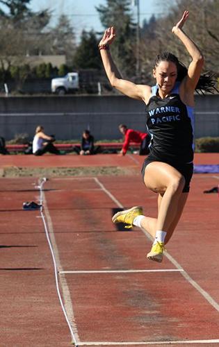 Warner Pacific student athlete Alyssa Neal