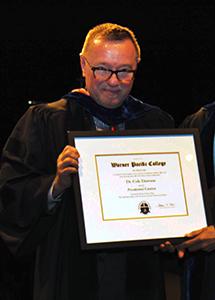 Presidential Citation 2015 - Dr. Dawson