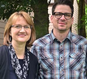 WPC FYLC Instructors Sean Benesh and Leslie Gould