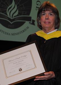 Faculty Emeritus 2015 Sandra Ahlquist