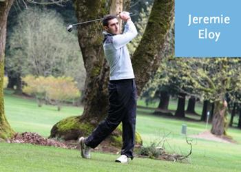 Warner Pacific golfer Jeremie Eloy
