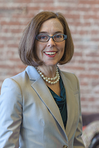 Oregon Governor Kate Brown 2015