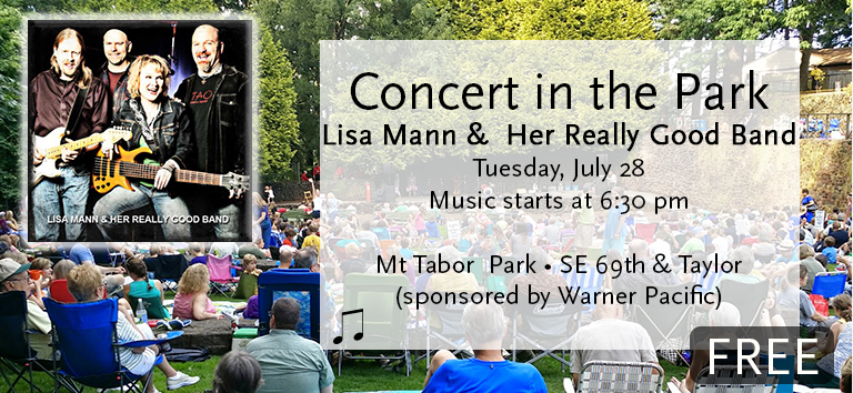 Concert in the Park sponsored by Warner Pacific 2015