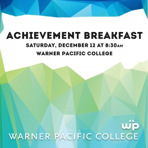 Achievement breakfast for newly admitted students
