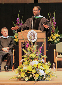 Warner Pacific welcome weekend 2015 Convocation with Dr. Reggie Nichols
