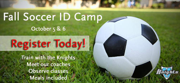 Knights soccer ID camp