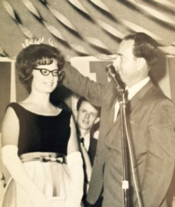 WPC's first Homecoming Queen: Carol Kuykendall-Walters (historical photo)