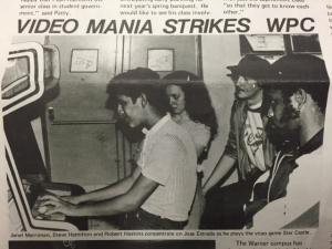 video mania strikes wpc (historical photo)