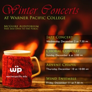 Warner Pacific Winter Concerts web graphic