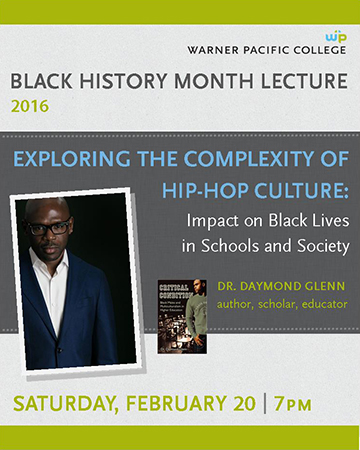 Warner Pacific Black History Month lecture