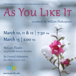 WPC Spring Drama Production: As You Like It