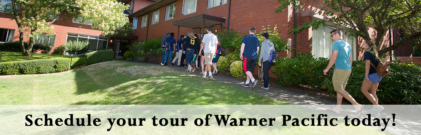 Schedule your visit to Warner Pacific today