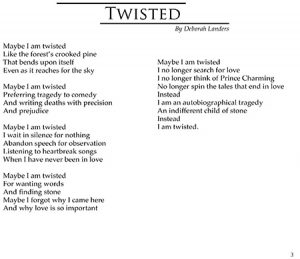 Warner Pacific Rocinante poem