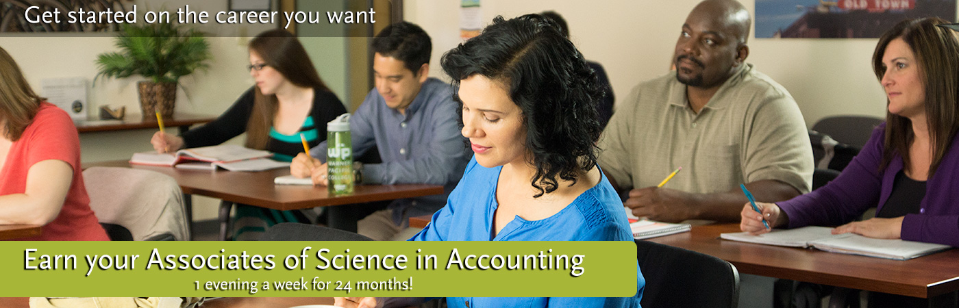 Warner Pacific Associates of Science in Accounting web banner