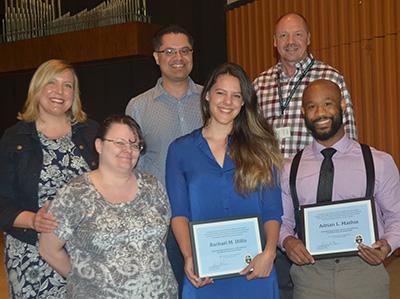 Honors Chapel Education awards