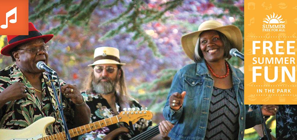 Portland Park & Rec free summer concerts