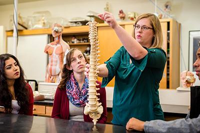 Warner Pacific science class