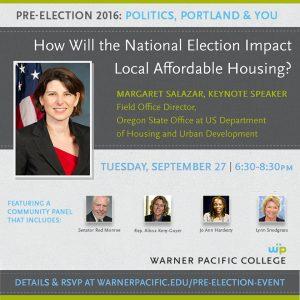 WPC Pre-election event 2016