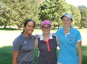 Oregon Junior Golfers with Knight Golfer at Knights 4 A Day event