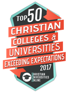 Warner Pacific is a top 50 Christian College exceeding expectations - logo