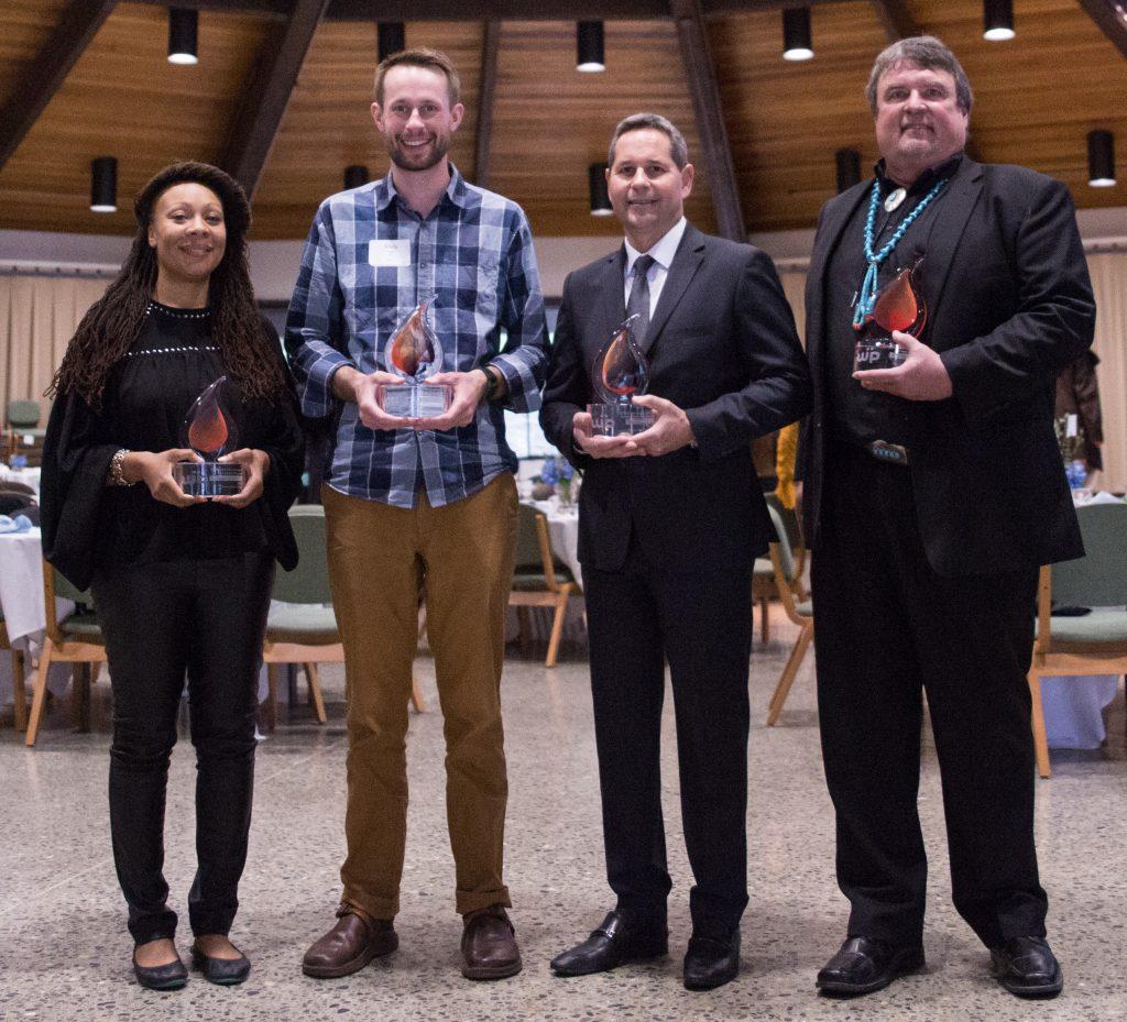 2017 Warner Pacific Distinguished Alumni Award winners