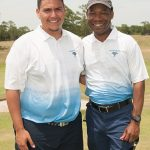 Royce Rosenthal and Coach Quincy Heard
