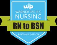 Warner Pacific RN to BSN Nursing Badge