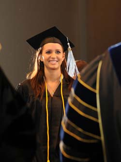 WPC student graduating
