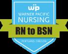 RN to BSN program badge